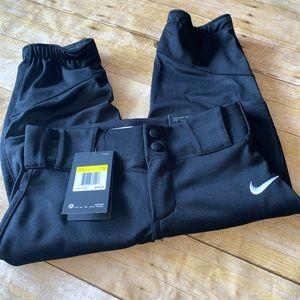 NWT Nike pro high cuff baseball pants size small